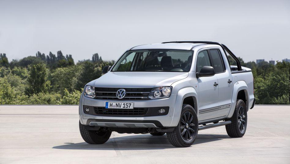 VW Amarok: Als erstes betroffenes Modell in die Werkstatt