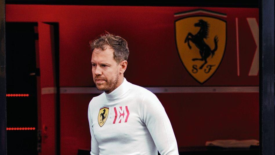 Ferrari-Pilot Vettel im Februar in Barcelona: »Ich bin optimistischer als im Vorjahr«