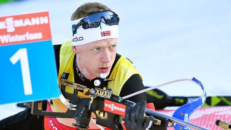 Johannes Thingnes Bø ist derzeit der beste Biathlet der Welt