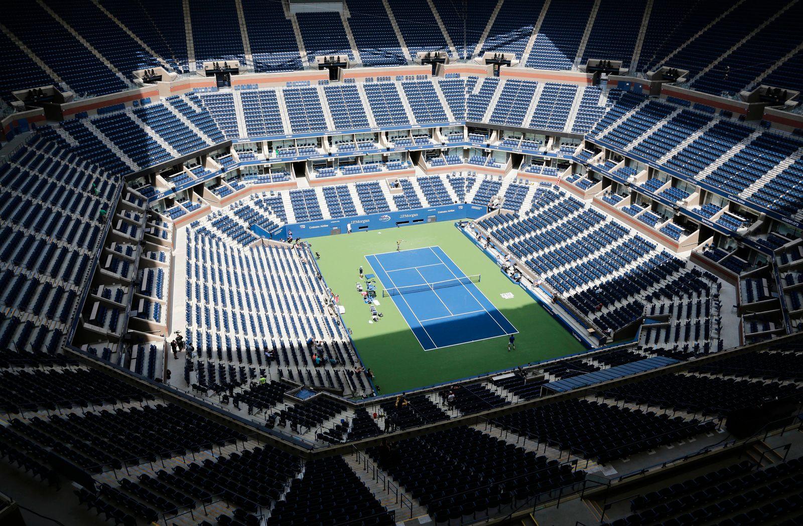 US Open - Arthur-Ashe-Stadion