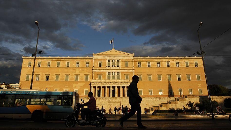 Parlament in Athen: Die Regierung ist gegen die Kapitalflucht machtlos