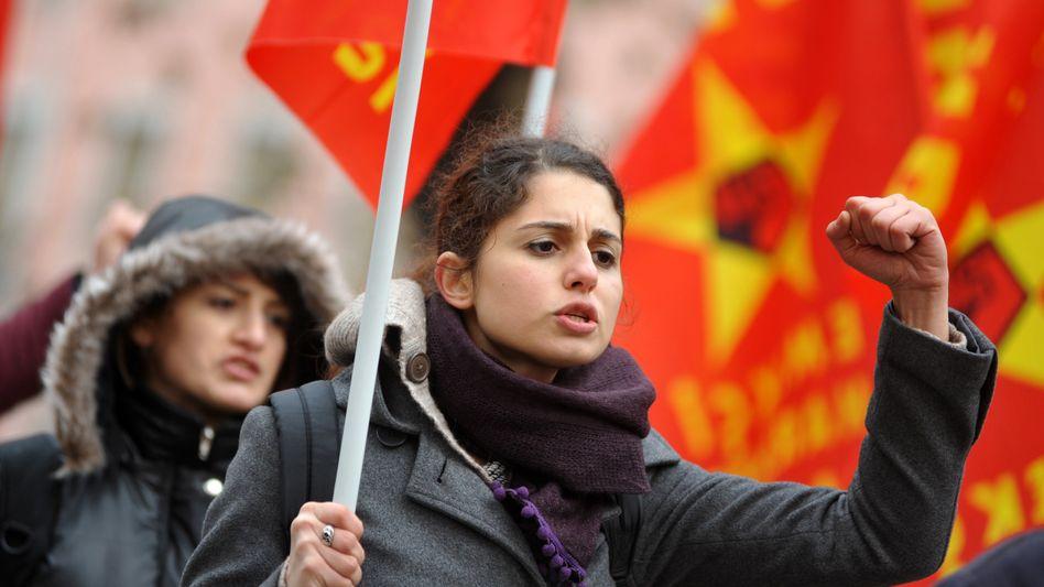 """Demonstranten in Ankara: """"Tschüss Tayyip"""""""