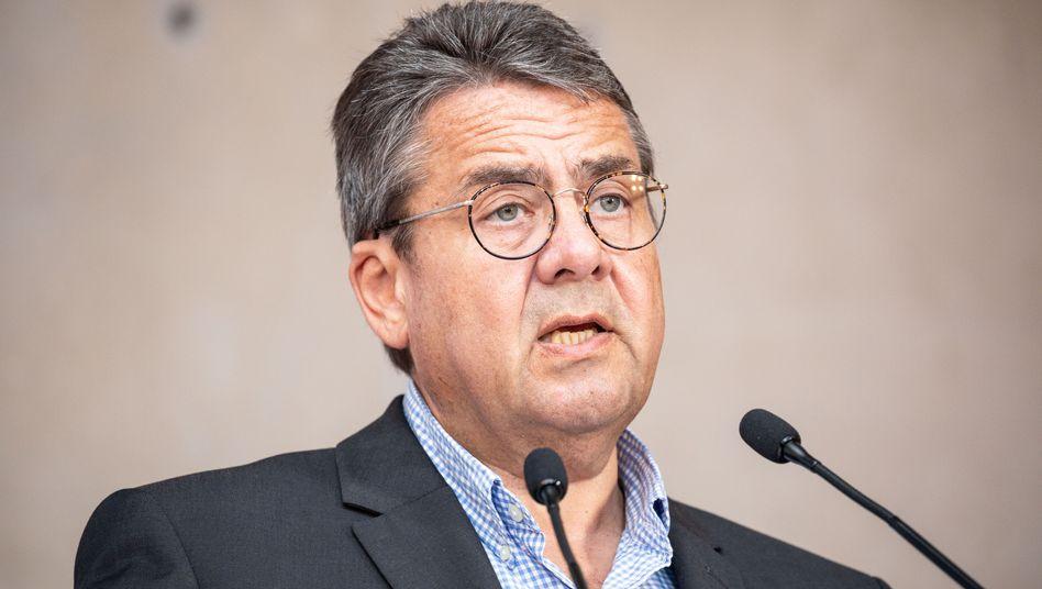 """Sigmar Gabriel will den """"braunen Sumpf"""" austrocknen"""