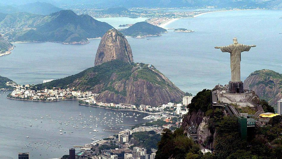 Jesusstatue über Rio: Land akademischer Träume am Zuckerhut