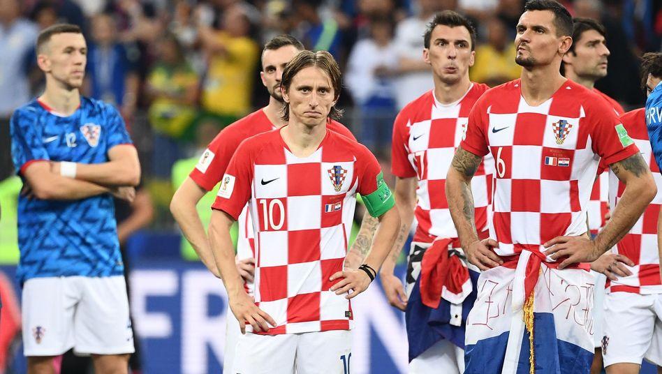 Enttäuschte Kroaten