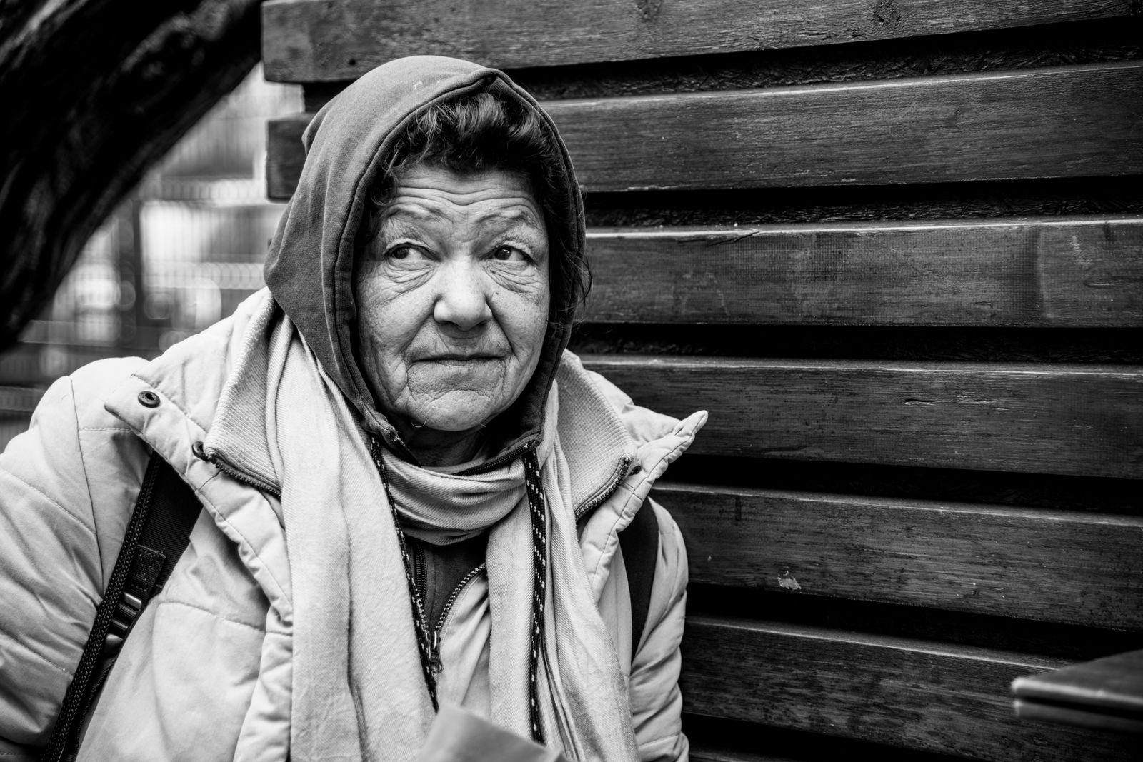 Obdachlosigkeit - Portraits © Debora Ruppert -30