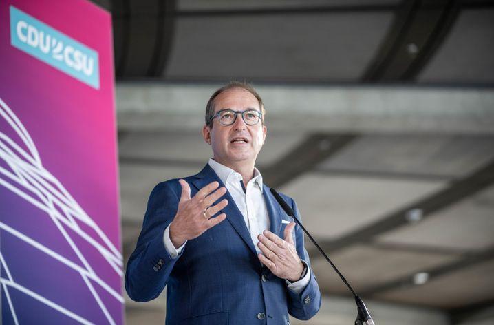 Dobrindt in Berlin: »Olaf Scholz braucht geradezu die Obhut der Union«
