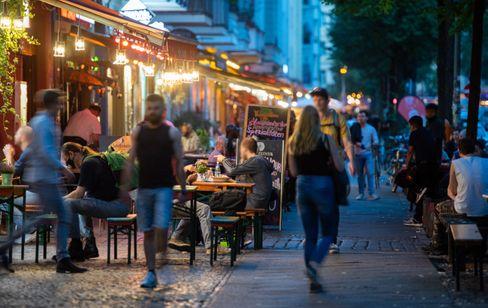 Außengastronomie in Berlin
