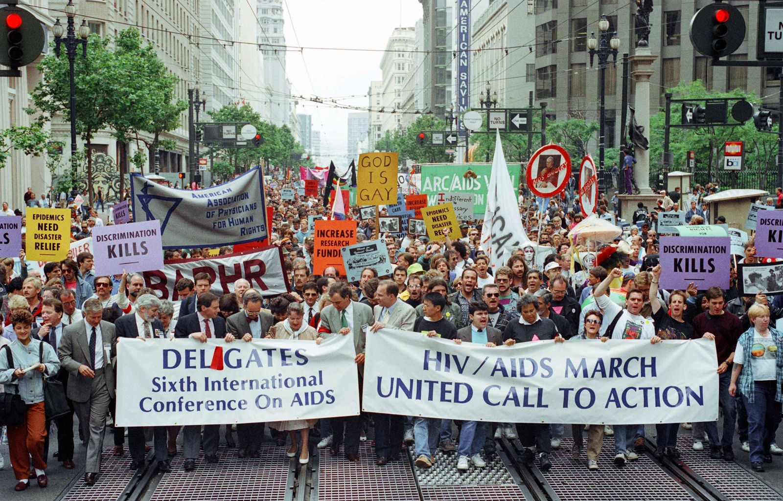 AIDS Demonstration