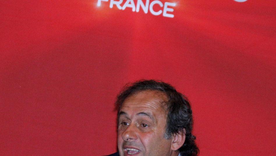 Uefa-Präsident Platini: Angriff aus Belgien