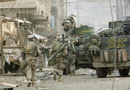"""US-Soldaten in Falludscha: """"Ein Desaster"""""""