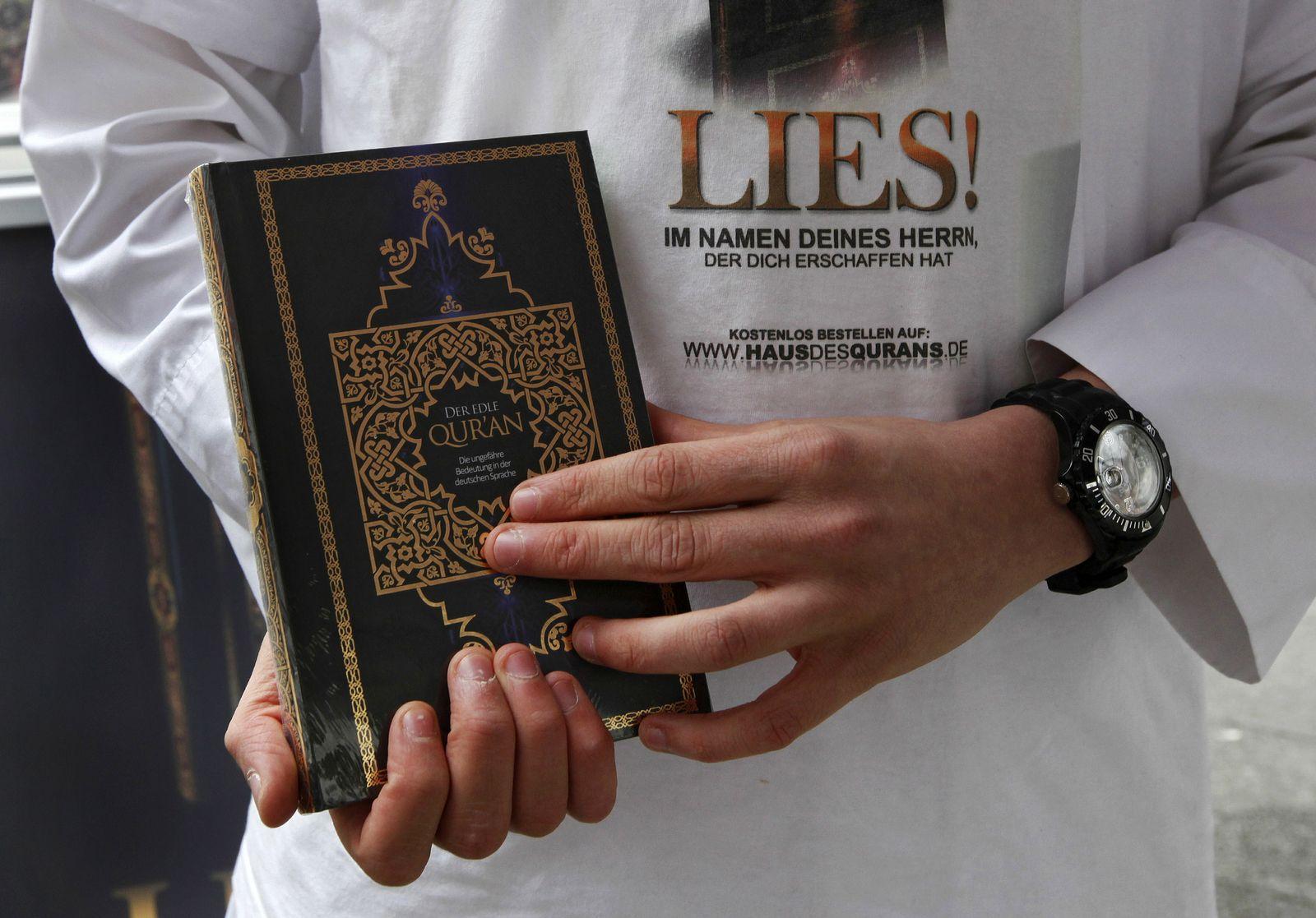 NICHT VERWENDEN Koranverteilung/Lies!
