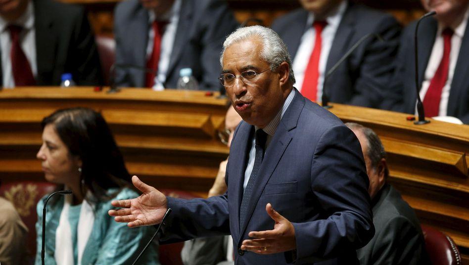 Sozialisten-Chef António Costa: Machtübernahme am Dienstag