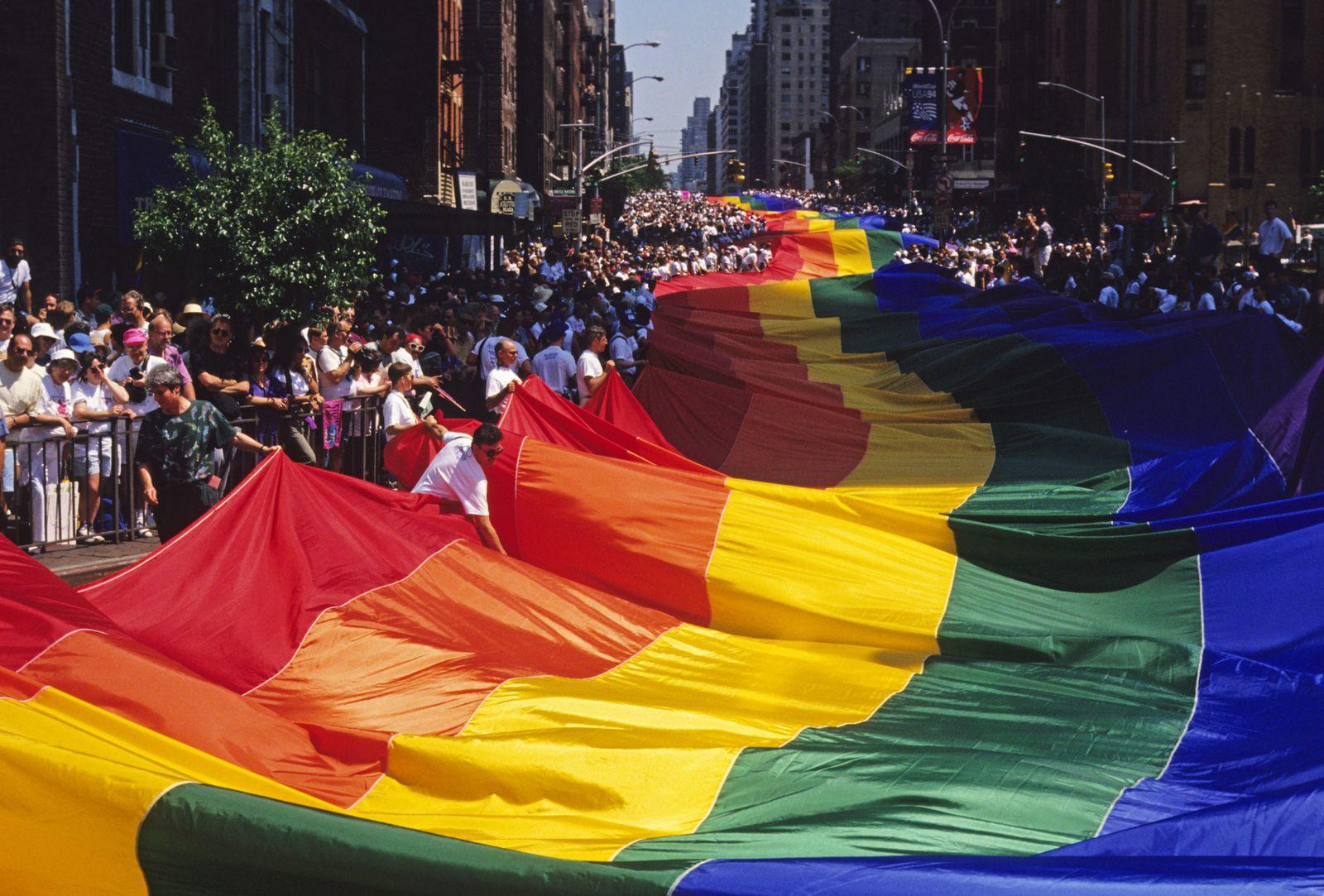 NICHT MEHR VERWENDEN! - Homosexuell / New York / Parade