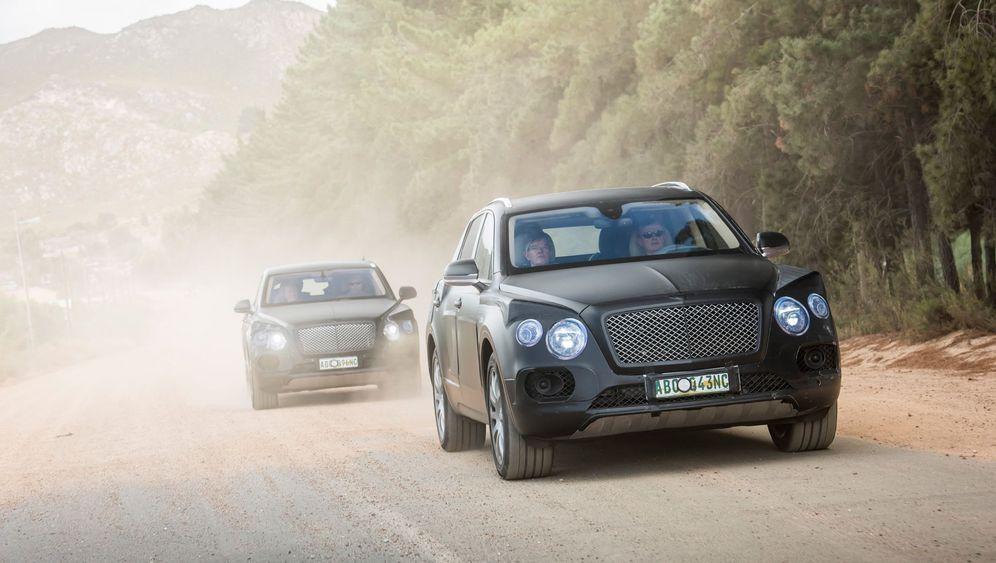 Bentley Bentayga: Der Berg ruft