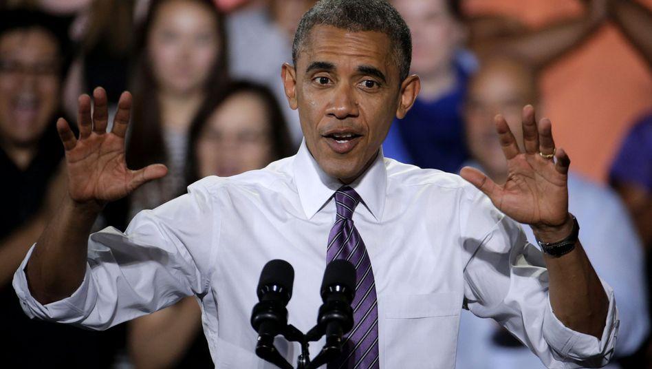 """US-Präsident Obama: """"Ein politischer Werbegag"""""""