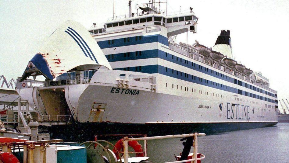 """Größte zivile Schiffskatastrophe der europäischen Nachkriegsgeschichte: 1994 sank die """"Estonia"""""""