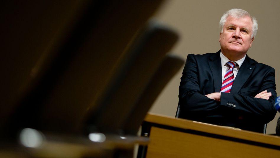 """Horst Seehofer im bayerischen Landtag (29.01.): Lässt """"keine Belehrung"""" zu"""