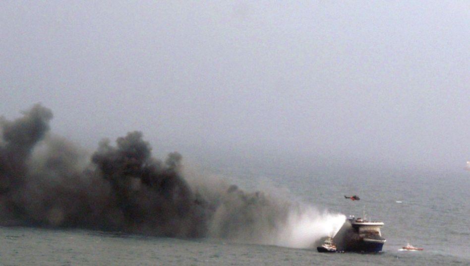 Brennende Fähre vor Griechenland: Albtrauminder Adria