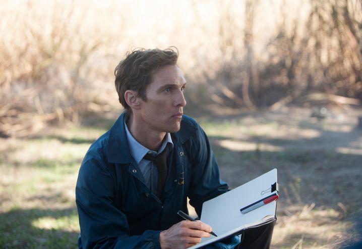 """Matthew McConaughey als Polizist Rustin Cohle in der ersten Staffel von """"True Detective"""""""
