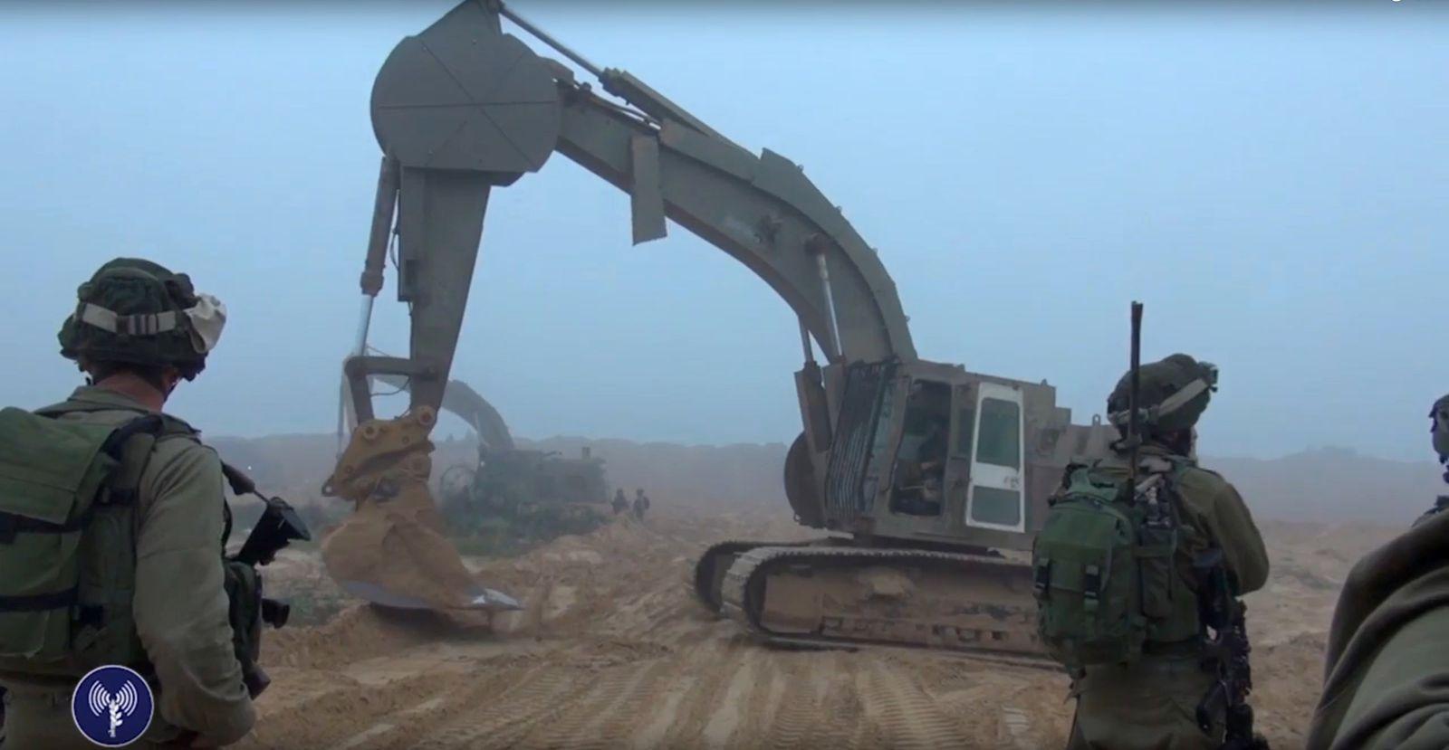 EINMALIGE VERWENDUNG Israel / Hamas / Terror / Tunnel