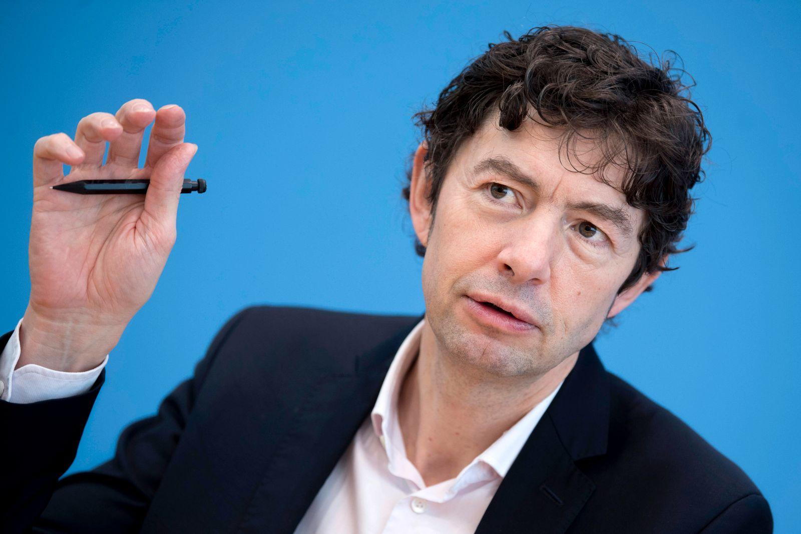 Prof. Christian Drosten, Coronavirus DEU, Deutschland, Germany, Berlin, 02.03.2020 Prof. Christian Drosten, Direktor In