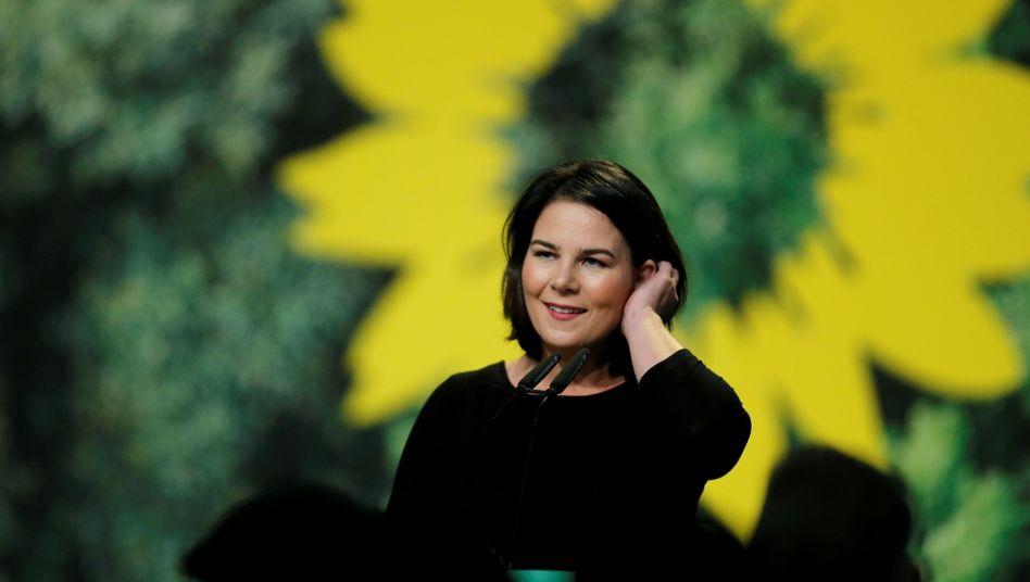 Die grüne Kanzlerkandidatin Annalena Baerbock