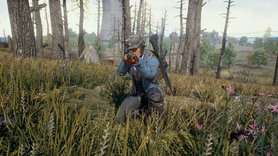 """Screenshot aus """"Playerunknown's Battlegrounds"""""""