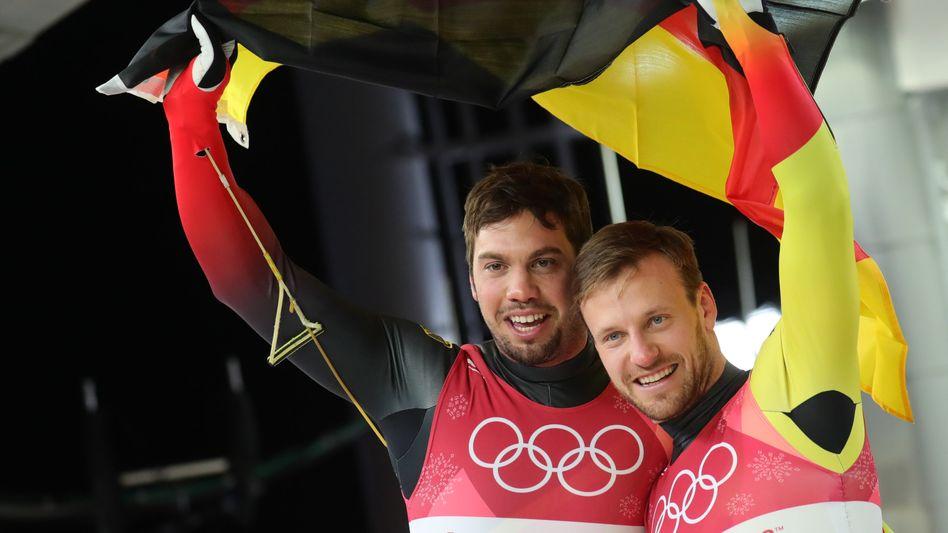 Tobias Wendl (l.) und Tobias Arlt