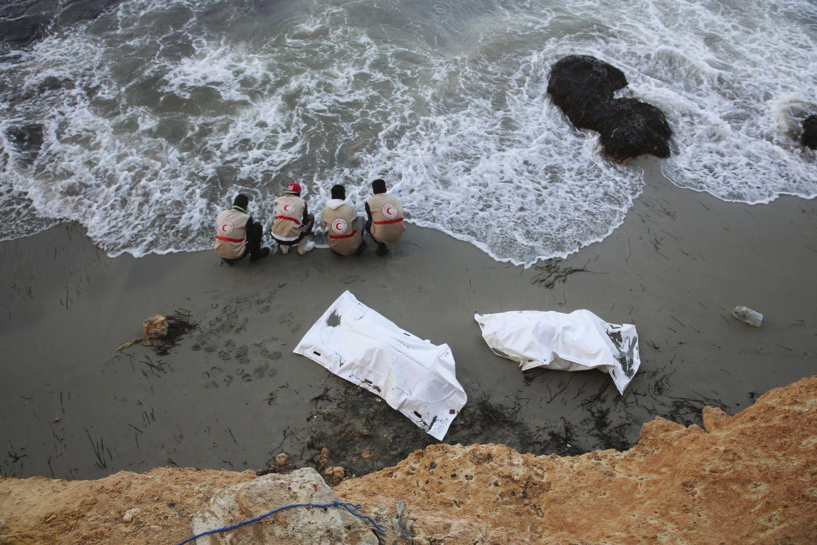 Lybien/ Flüchtlinge/ Leichen