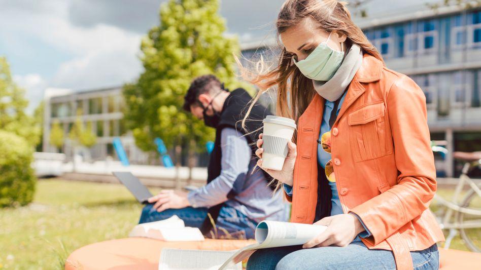 An Deutschlands Hochschulen beginnt das Wintersemester – vielerorts noch mit Corona-Einschränkungen (Symbolbild)