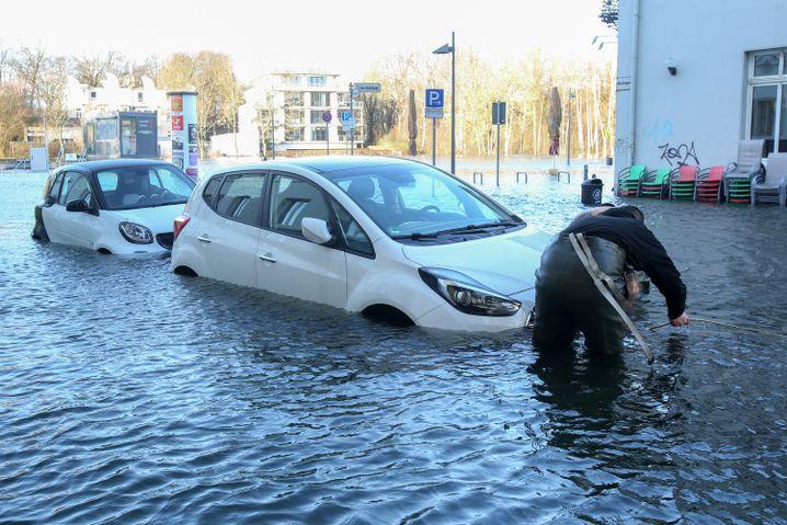 Sturmflut in Lübeck: Ausmaß des Temperaturanstiegs einzigartig