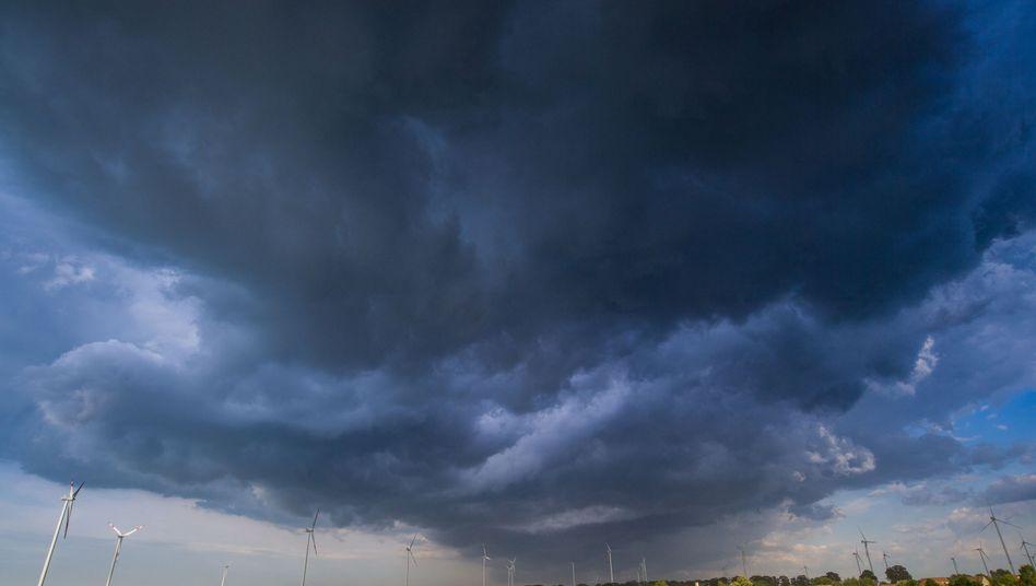 Gewitter Ende Mai in Brandenburg