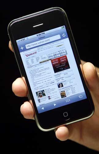 Webseiten auf dem iPhone: Toller Sprung nach vorne