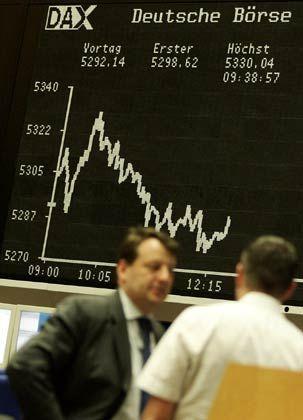 Börsenchart (am 14. Juni): Echtes statt Spielgeld