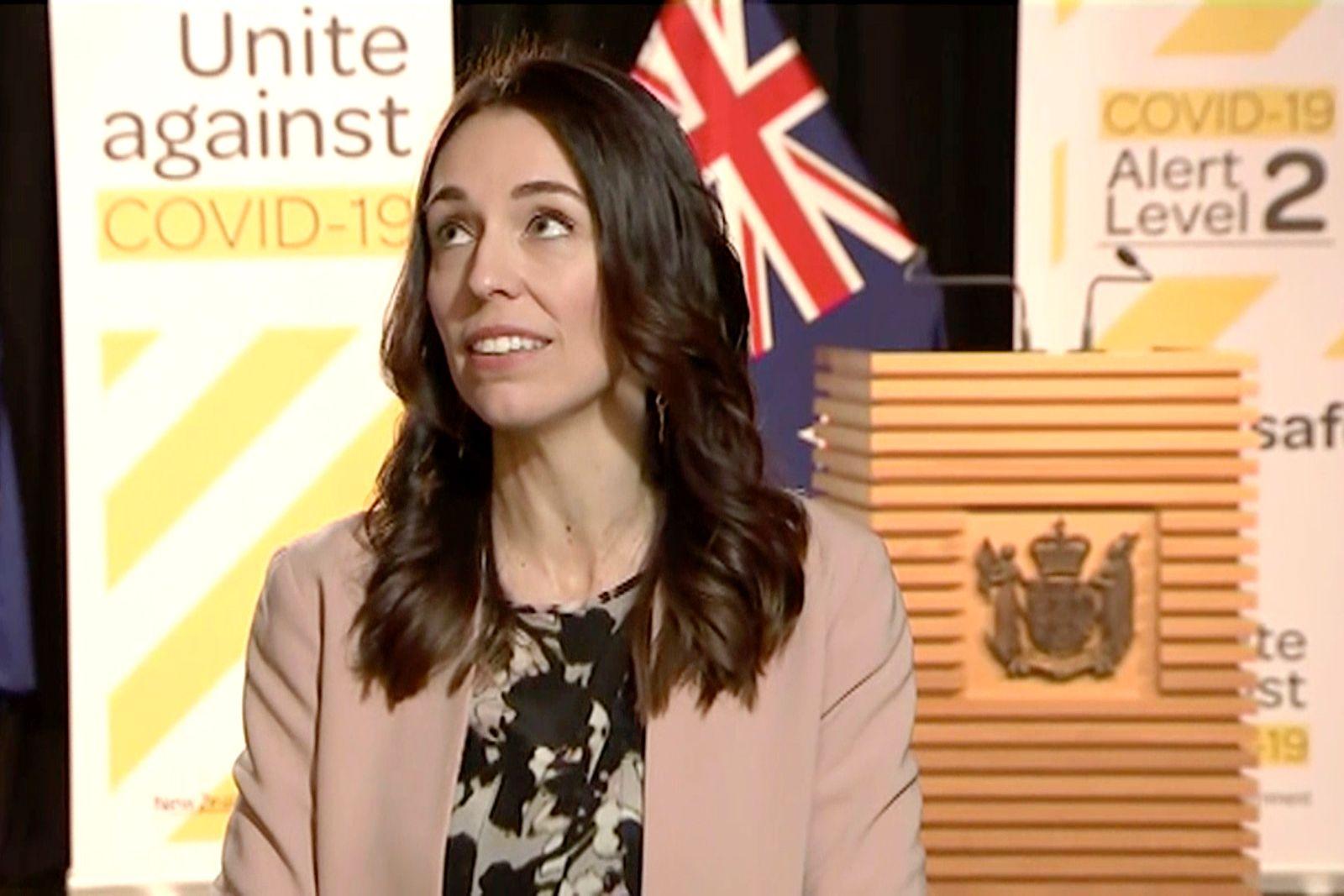 Neuseelands Regierungschefin bleibt auch bei Erdbeben cool