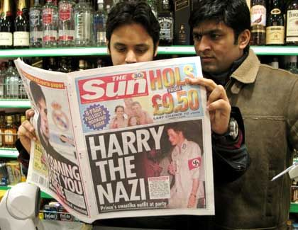 """Britische Zeitungsleser: """"Wenn das ein Scherz sein sollte, ging er gründlich daneben"""""""