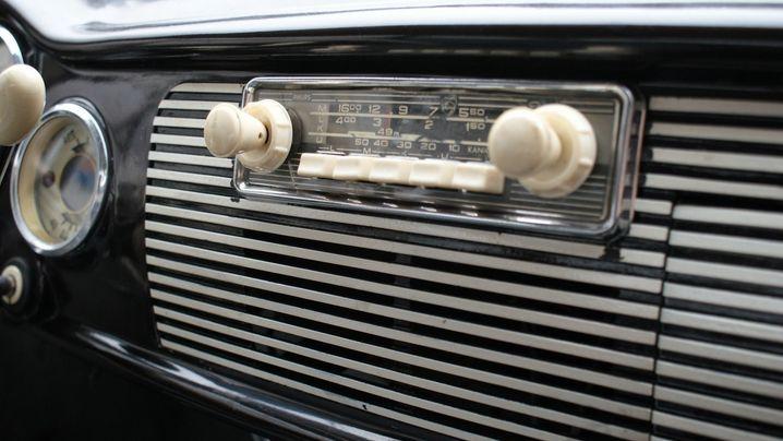 Historische Autoradios: Nur das Aussehen zählt