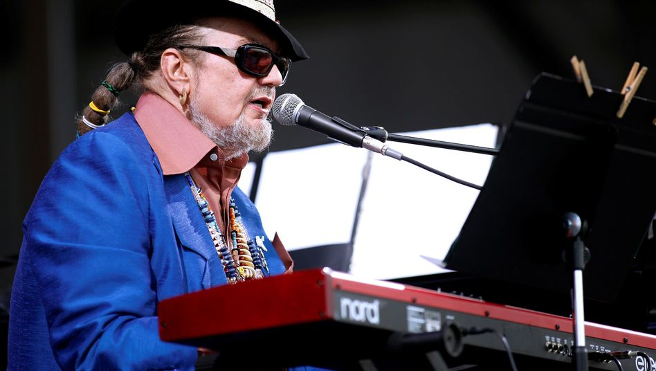 """Dr. John 2013 bei einem Musikfestival in New Orleans: Laut seiner Familie trug er die Stadt """"immer im Herzen"""""""