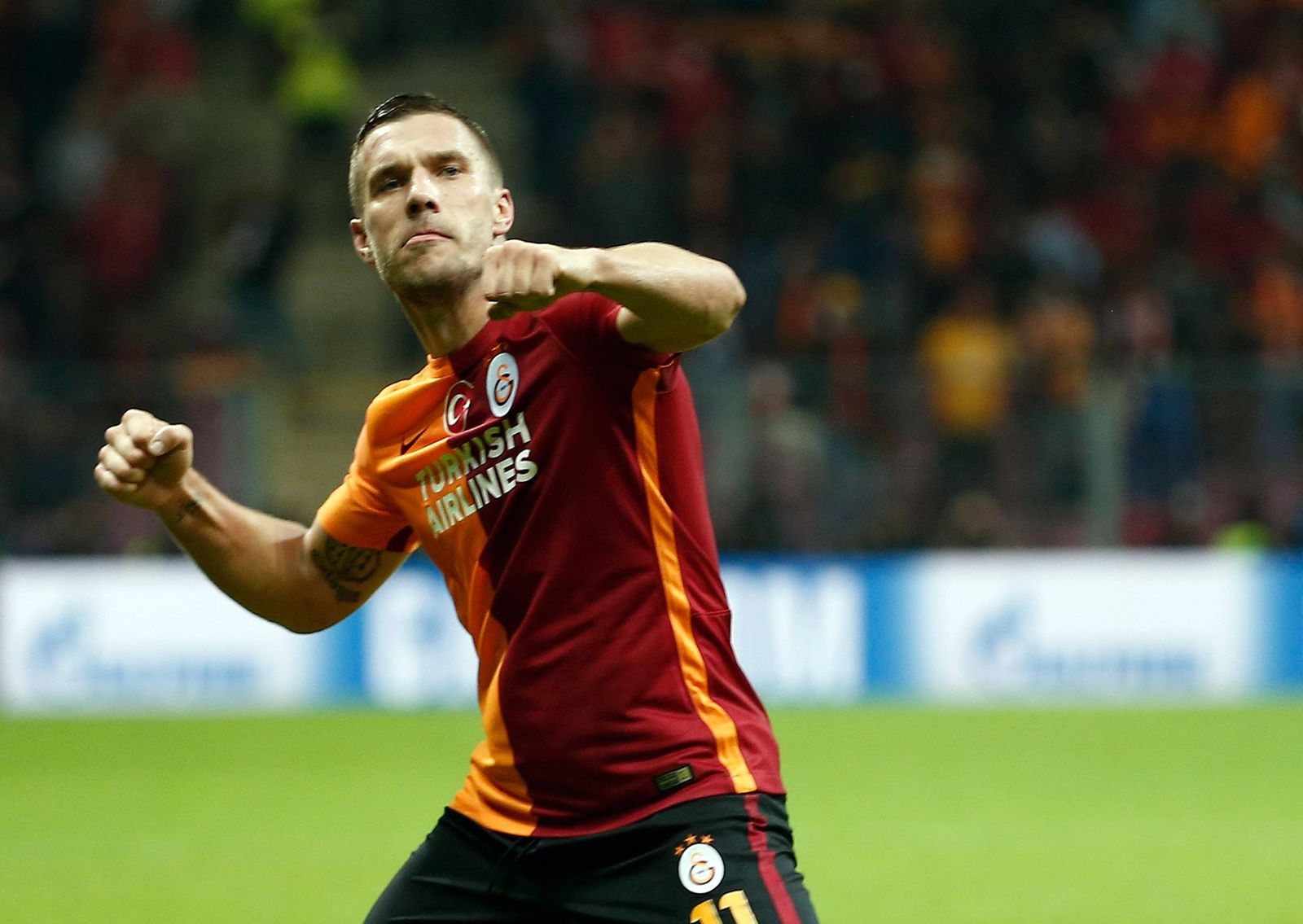 EINMALIGE VERWENDUNG Lukas Podolski