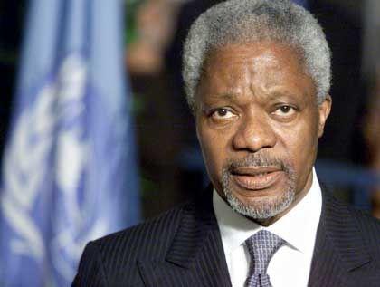 """Kofi Annan: """"Epidemie eines ungesunden Lebensstils"""""""