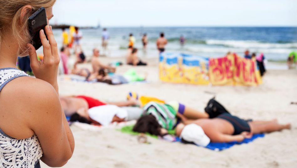 Telefonieren im Ausland: Handynutzung wird innerhalb der EU billiger