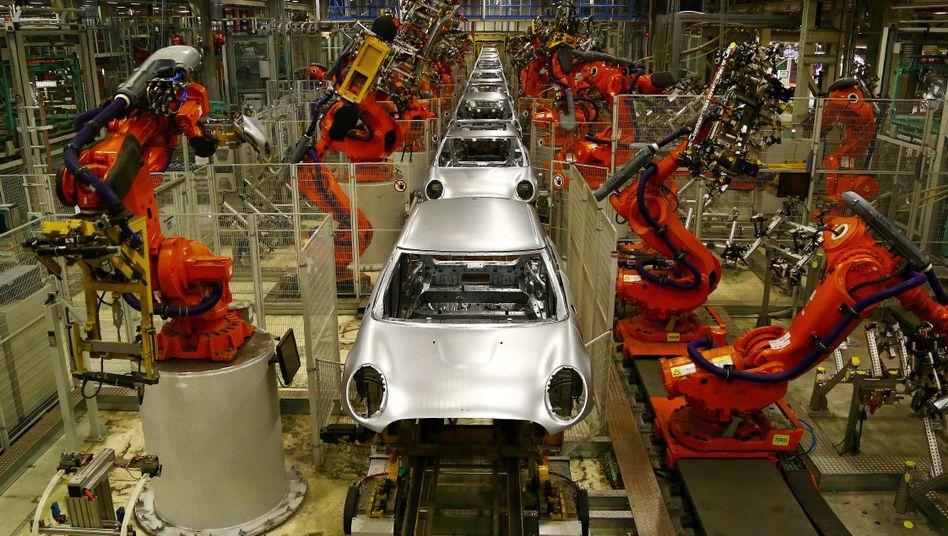 Mini-Produktion von BMW in Oxford
