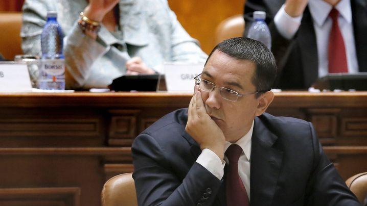 Rumänien: Ponta gibt auf