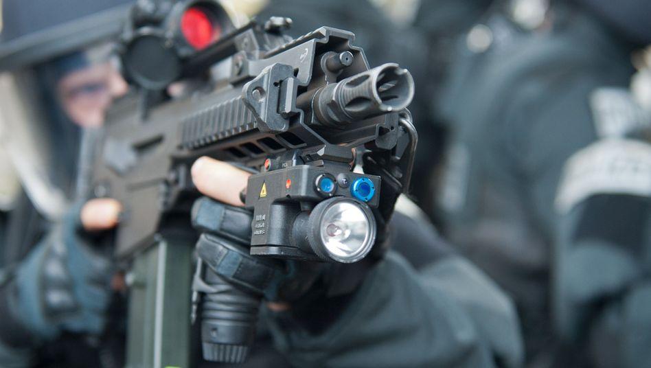 Sondereinsatzkommando der Polizei (Symbolbild)