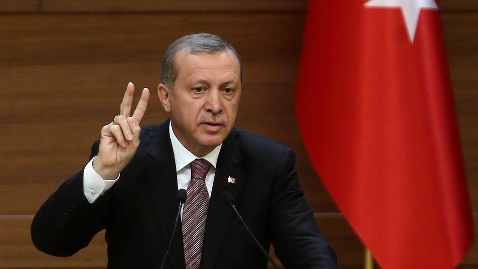 Staatschef Erdogan: Entscheidende Rolle in der Flüchtlingskrise