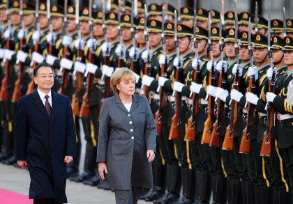 Merkel und Wen Jiabao: Pakt gegen die Finanzkrise