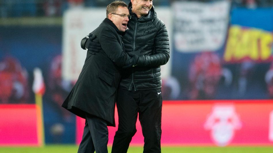 Ralf Rangnick und Ralph Hasenhüttl