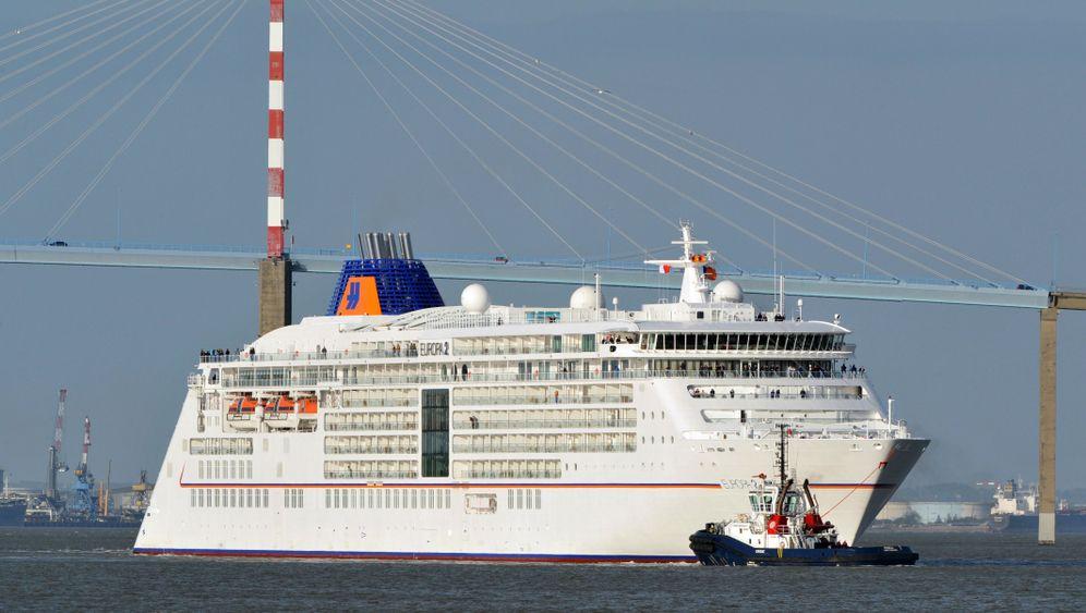 """Luxusliner """"Europa 2"""": Seeanemonen-Leuchter und Fern-Seher"""