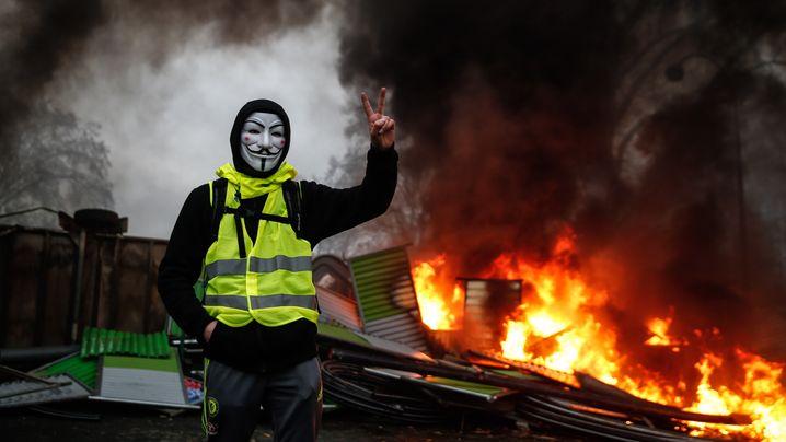 Proteste in Paris: Der Tag der Eskalation